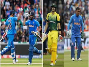 Ind Vs Australia >> Ind Vs Aus 3rd Odi In Virat And Rohit S Race Dhoni And Smith Left Behind